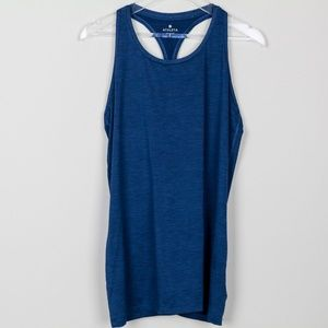 Athleta Tank Top Athletic Dark Heather Racer Back